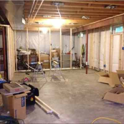 industrial basement construction