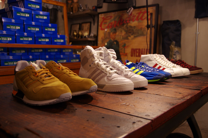 Photo02 - A-1 CLOTHING 真柄氏に「adidas Collectors Project」についてインタビュー