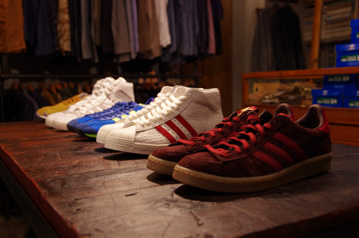 Photo03 - A-1 CLOTHING 真柄氏に「adidas Collectors Project」についてインタビュー