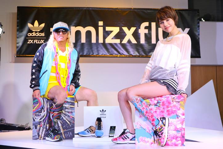 Photo01 - アディダスは、スマートフォンで撮影した写真がスニーカーのアッパーデザインになる adidas mi ZX Flux Photo Print がスタート