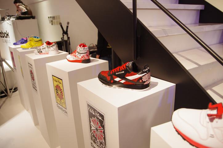 Photo02 - Reebok x Keith Haring Exhibition