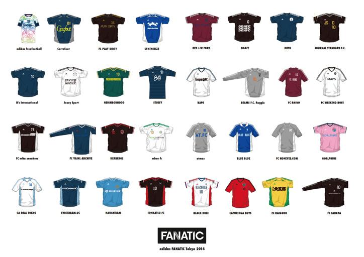 Photo02 - adidasがクリエイターを集めて開催するフットボールの大会『adidas FANATIC Tokyo 2014』が開催