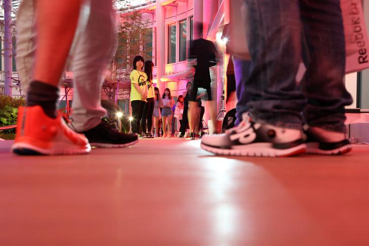 Photo15 - リーボックは、ZPump Fusionのニューカラーの発売を記念し Pump Night Party を開催