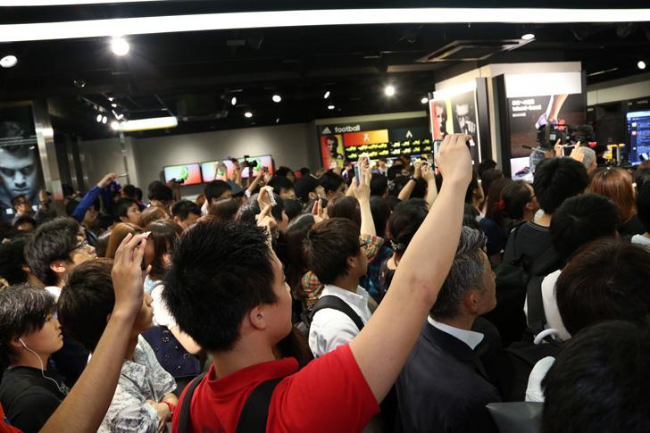 Photo03 - アディダスは、最新フットボールスパイク「X/ACE」の発売を記念して香川真司選手、槙野智章選手を招いたイベントを開催