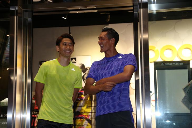 Photo19 - アディダスは、最新フットボールスパイク「X/ACE」の発売を記念して香川真司選手、槙野智章選手を招いたイベントを開催
