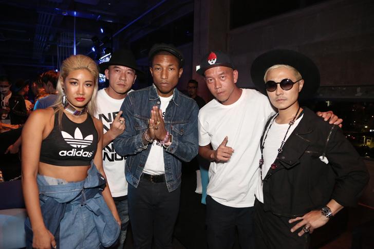 Photo25 - アディダスは、Superstarをテーマに一夜限りのアソビ場を創り出すCELEBRATION PARTY TOKYO by Pharrell Williams & YOONを開催