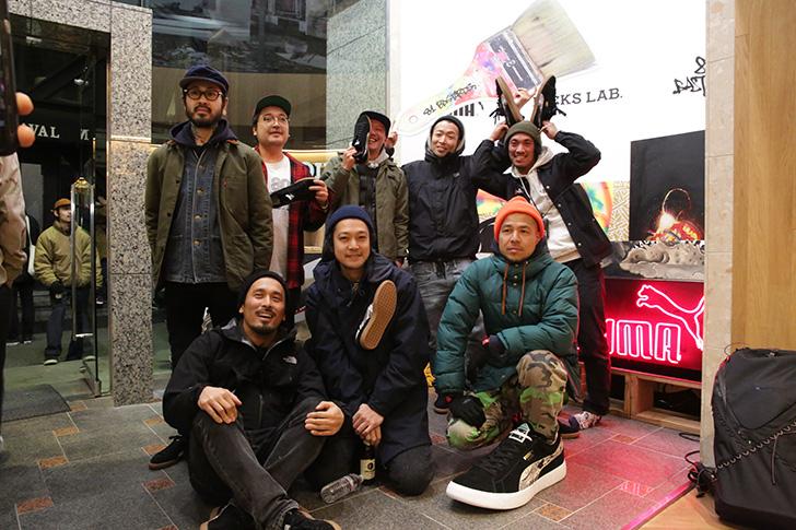 Photo08 - PUMA × KICKS LAB. JPN SUEDE 81BASTARDSの発売を記念し、ローンチパーティーを開催