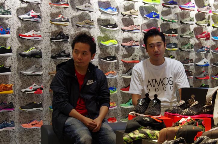 Photo03 - 「NIKE DUCK HUNTER CAMO PACK」の発売を前に「Sports Lab by atmos」ディレクターKoji氏と「atmos」プレス佐藤氏をインタビュー