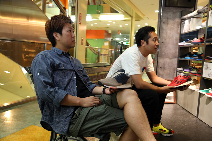 Photo03 - mita sneakers 国井氏 x atmos 佐藤氏「Reebok CLASSIC」インタビュー