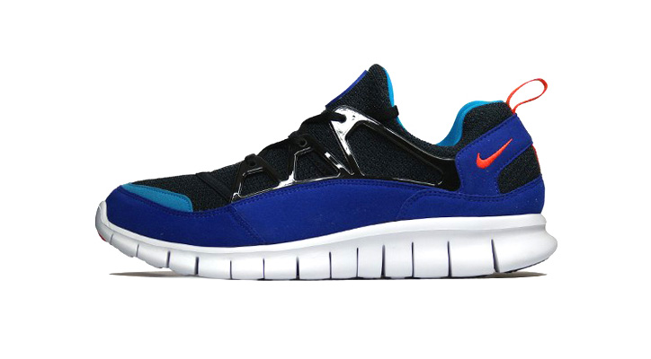Photo01 - Nike 2013 Free Huarache Light BLACK/TEAM-ORANGE/CONCORD