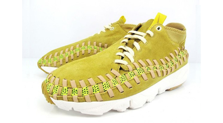 Photo01 - Nike Air Footscape Woven Chukka Yellow Suede/Gum
