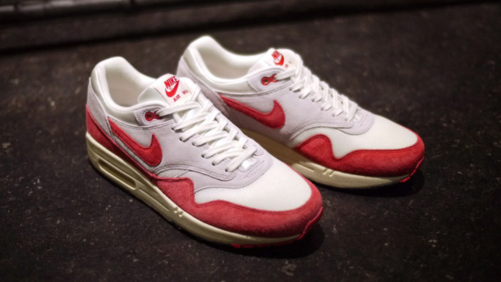 Photo06 - NIKE AIR MAX I OG 「LIMITED EDITION for SELECT」SAIL/UNIVERSITY RED/GREY/BLACK