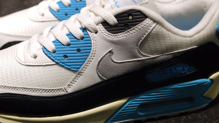 Photo04 - NIKE AIR MAX 90 OG 「LIMITED EDITION for SELECT」WHT/BLK/SAX