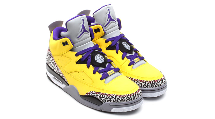 Photo02 - NIKE JORDAN SON OF LOW TOUR YELLOW/GRAPE ICE/CEMENT GREY-WHITE