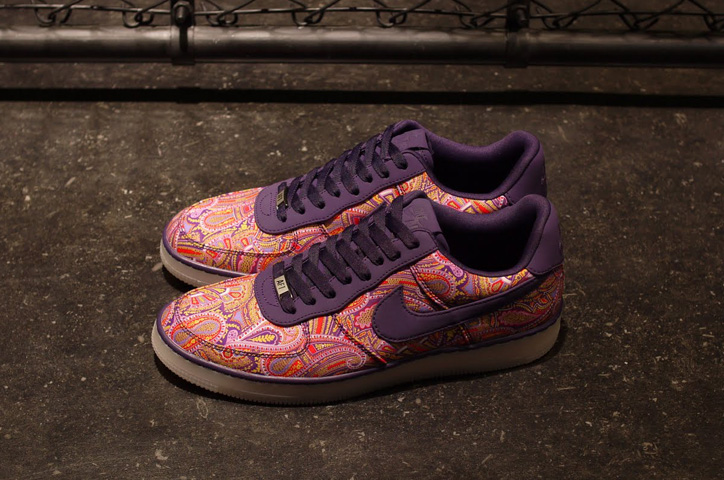 Photo03 - LIBERTY x NIKE AIR FORCE I DOWNTOWN LIMITED EDITION for NONFUTURE