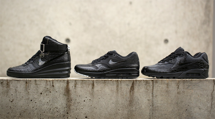 "Photo01 - NIKE ""Black Croc Pack"" が日本国内 Sports Lab by atmos にて限定発売"