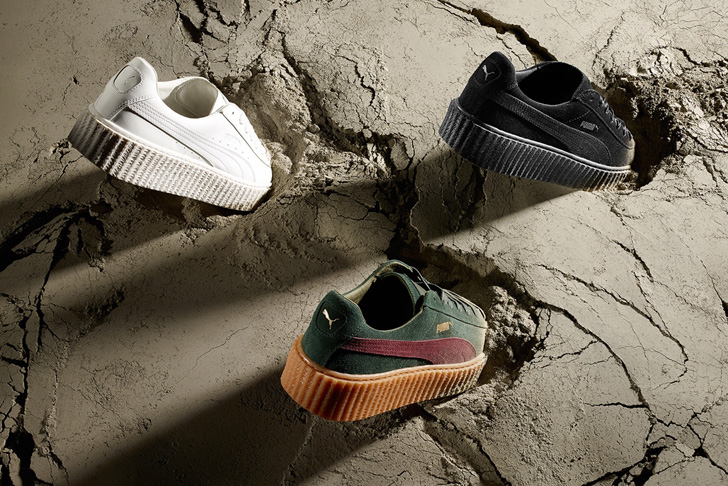 Photo02 - リアーナによるPUMA BY RIHANNAから、SUEDE CREEPERS / SUEDE CREEPERS SATINの2モデルが登場