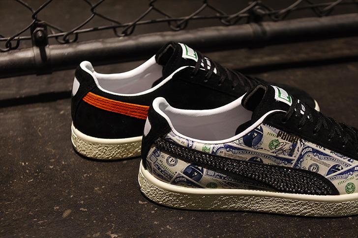 "Photo09 - プーマは、オリジナルのドル札紙幣をプリントしたmita sneakersとのコラボレーションモデルCLYDE ""mita sneakers""を発売"
