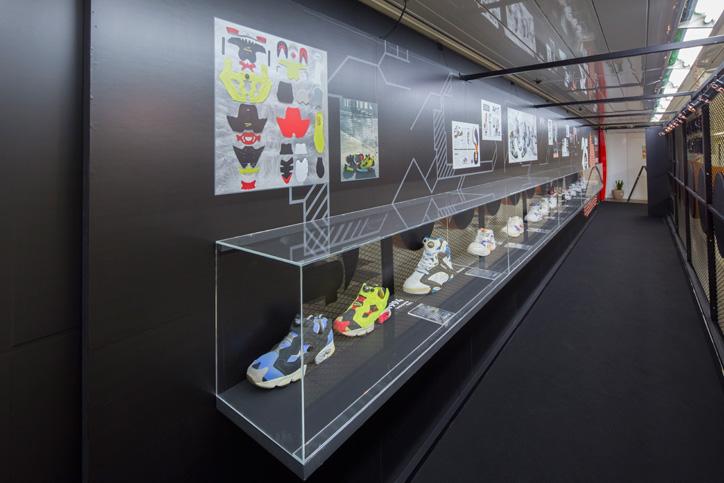 Photo02 - Reebok CLASSICから、「The Pumpテクノロジー」の誕生25周年を記念し、 特設ミュージアムを新宿駅にて展開