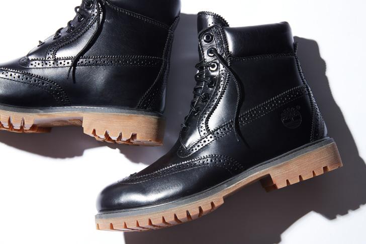 "Photo01 - ティンバーランドは、SHIPS JET BLUE限定""6inch Waterproof Brogue Boot""を発売"