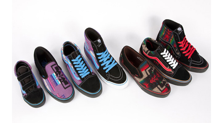 Photo01 - PENDLETON x VANS 2012 ALL NATIONS SKATE JAM PACK