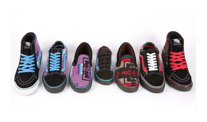 Photo02 - PENDLETON x VANS 2012 ALL NATIONS SKATE JAM PACK