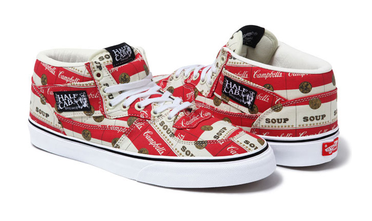 Photo03 - VANS x SUPREME WARHOL CAMPBELLS SOUP PACK