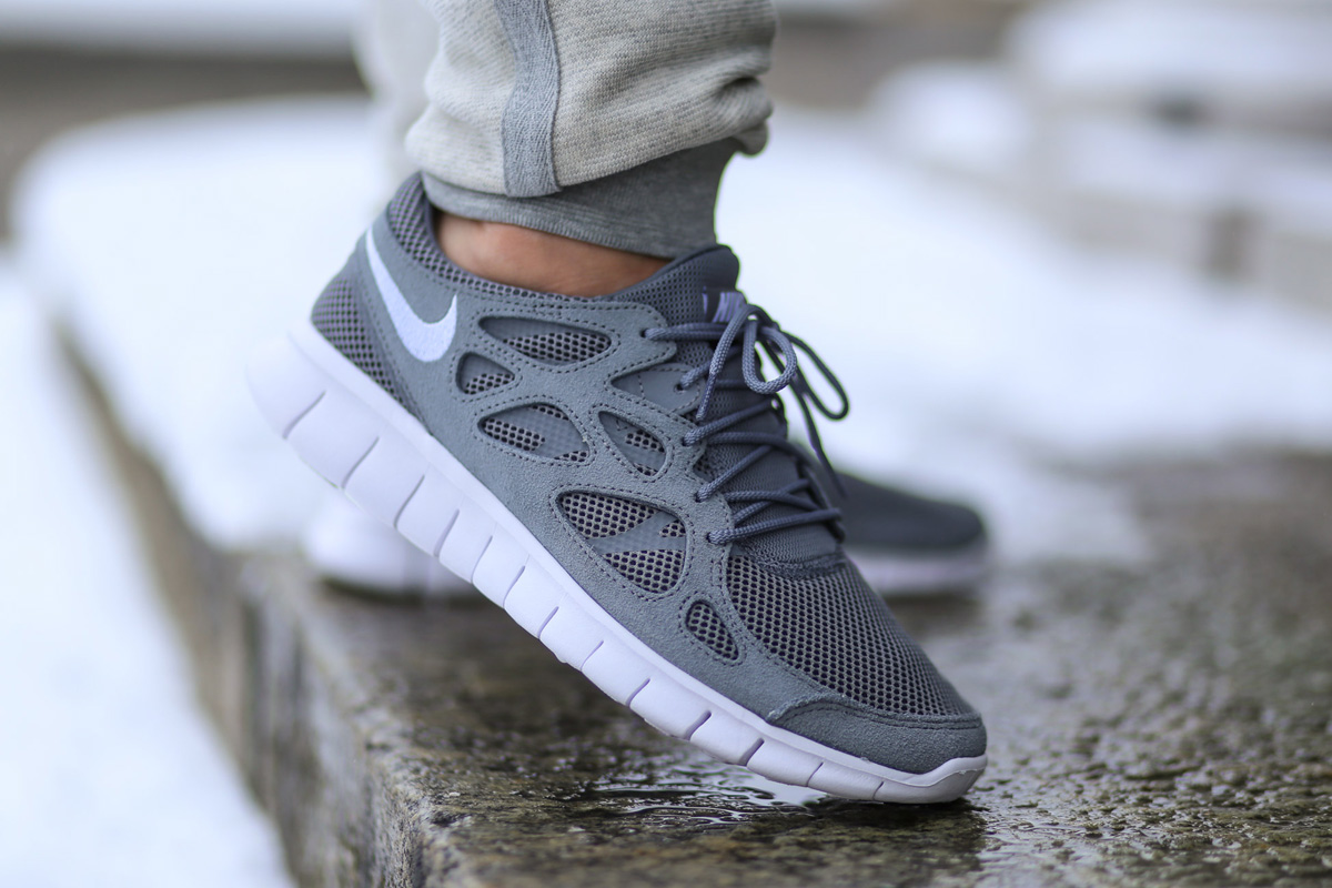 Run 2 Run Nike Free Run 2 Cool Grey Sbd