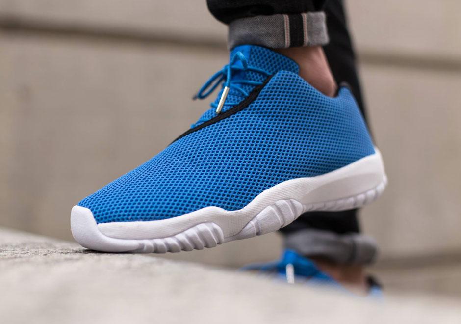Air Jordan Future Low Photo Blue Sneaker Bar Detroit