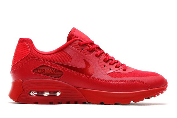 Nike Air Max 90 Red Sneaker Bar Detroit