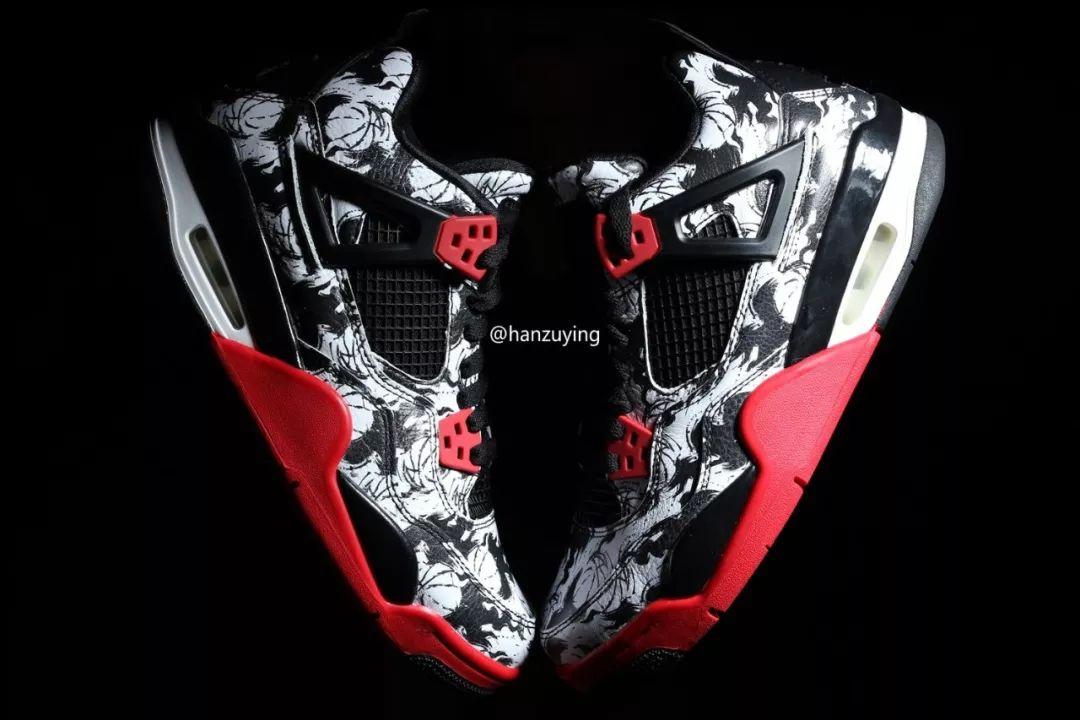 Air Jordan 4 Print Tattoo BQ0897-006 Release Date - SBD