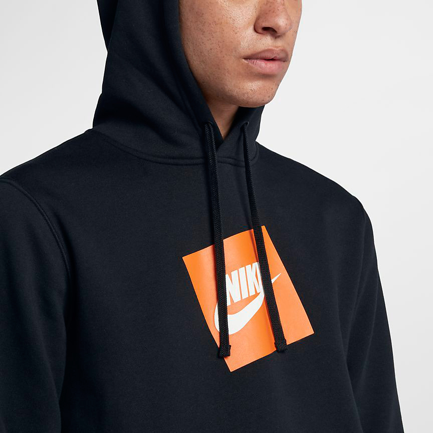 Pullover Hoodie Grey Nike Just Do It Hoodies And Sneakers Sneakerfits
