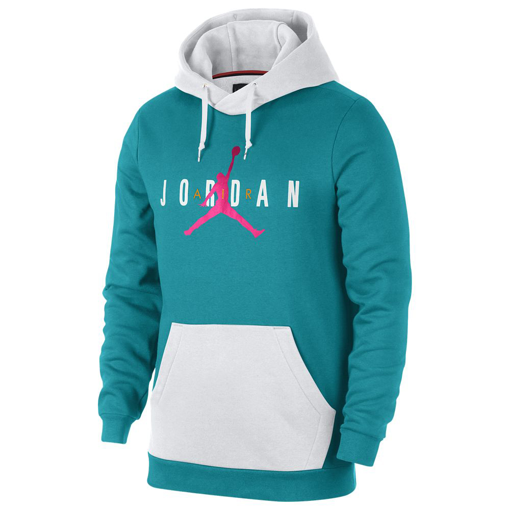 Nike Pullover Fleece South Beach Jordan 8 Turbo Green Hoodie Sneakerfits