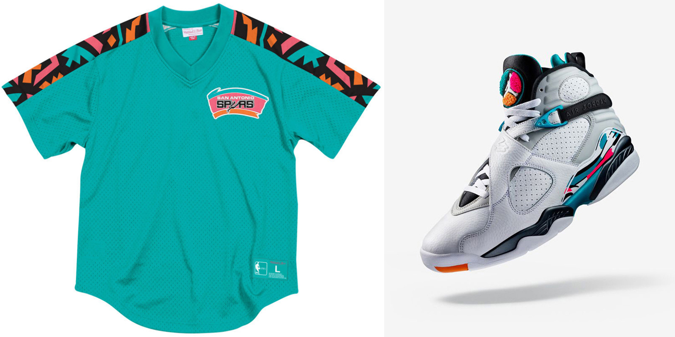 Retro Jerseys Jordan 8 South Beach Retro Jersey Shirts Sneakerfits