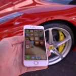 【動画】iPhone 6s vs Ferrari