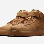 "11月3日再発売予定 NIKELAB AIR FORCE 1 MID 07 PREMIUM QS ""FLAX"""