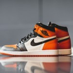 "AFEW にて7月8日 抽選販売 Air Jordan 1 Retro High OG ""Shattered Backboard"""