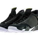 "8月13日発売予定 NIKE AIR JORDAN 14 ""BLACK/VIVID GREEN"""