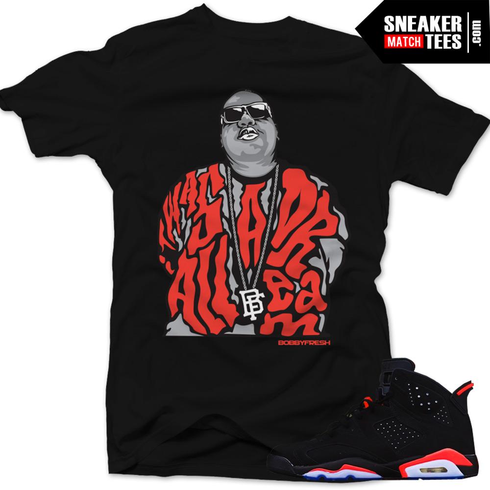 8e7a257d6038 Infrared 6s Black Sneaker Tees