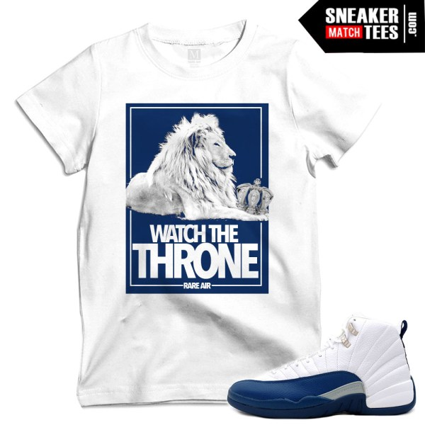 French blue 12 release date matching t shirts sneaker for French blue t shirt