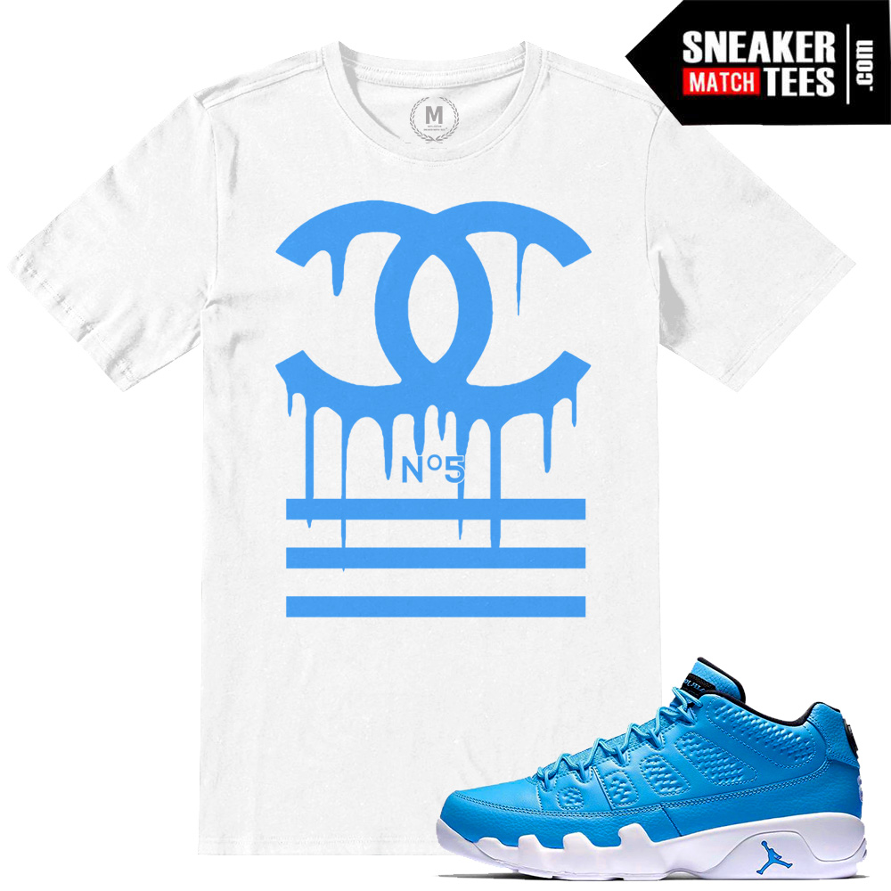 91cac7202baec8 Jordan 9 Pantone low t shirts match