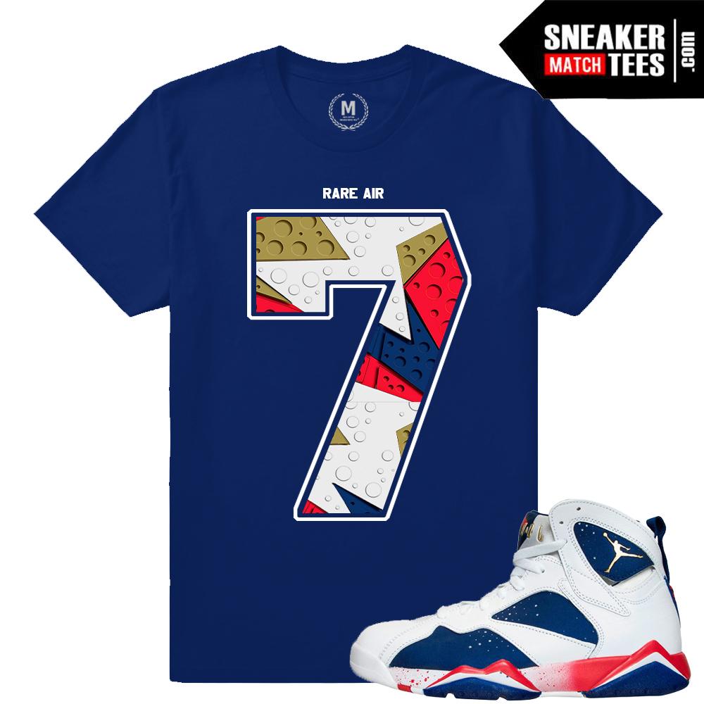 c6cab3b58384e6 Retro Jordan 7 Tinker Alternate shirt match