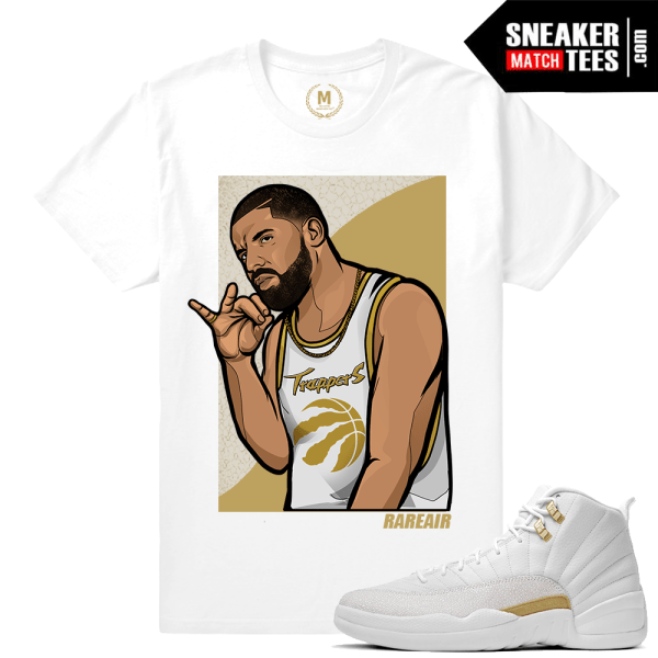 Jordan 12 OVO T... Jordan 12 French Blue Shirt