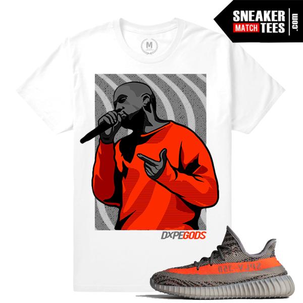 Yeezy Boost 350 Kanye T Shirt Match Beluga Sneaker Match