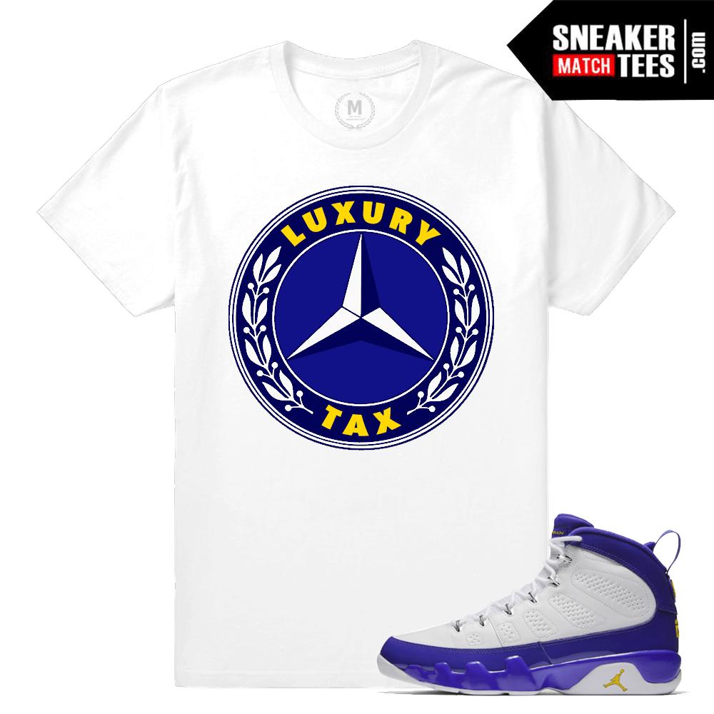 12d94b01a8d6 Jordan Retros Match Jordan 9 Kobe Shirts