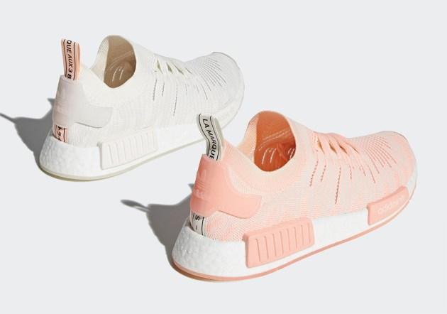 """Mùa hè thêm nóng với bộ đôi giày adidas nữ mới """"Clear Orange"""""""