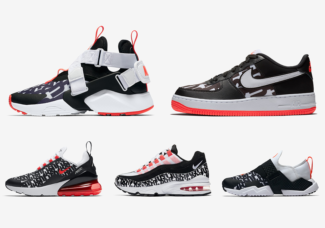 Nike Do Nike Kids Just Do It Pack August Release Info Sneakernews