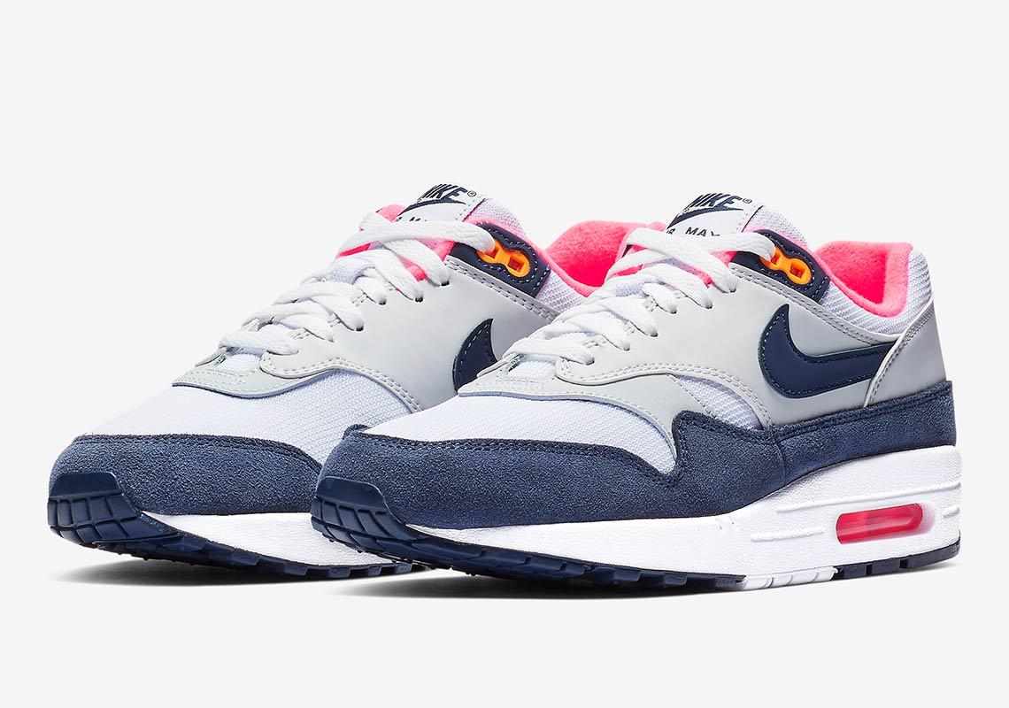 Air Max Classic Nike Air Max 1 Grey Midnight Navy First Look Info