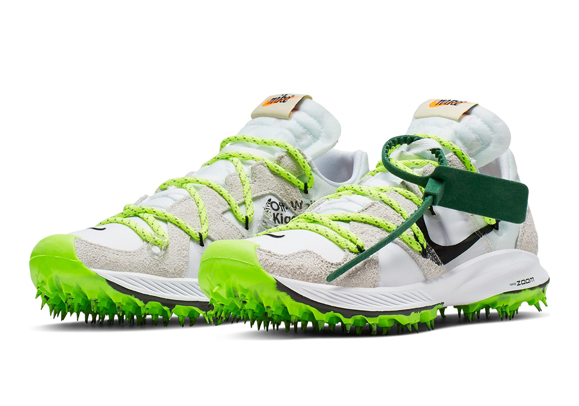 Nike Zoom Grey And Green Off White Nike Zoom Terra Kiger 5 Release Info Sneakernews