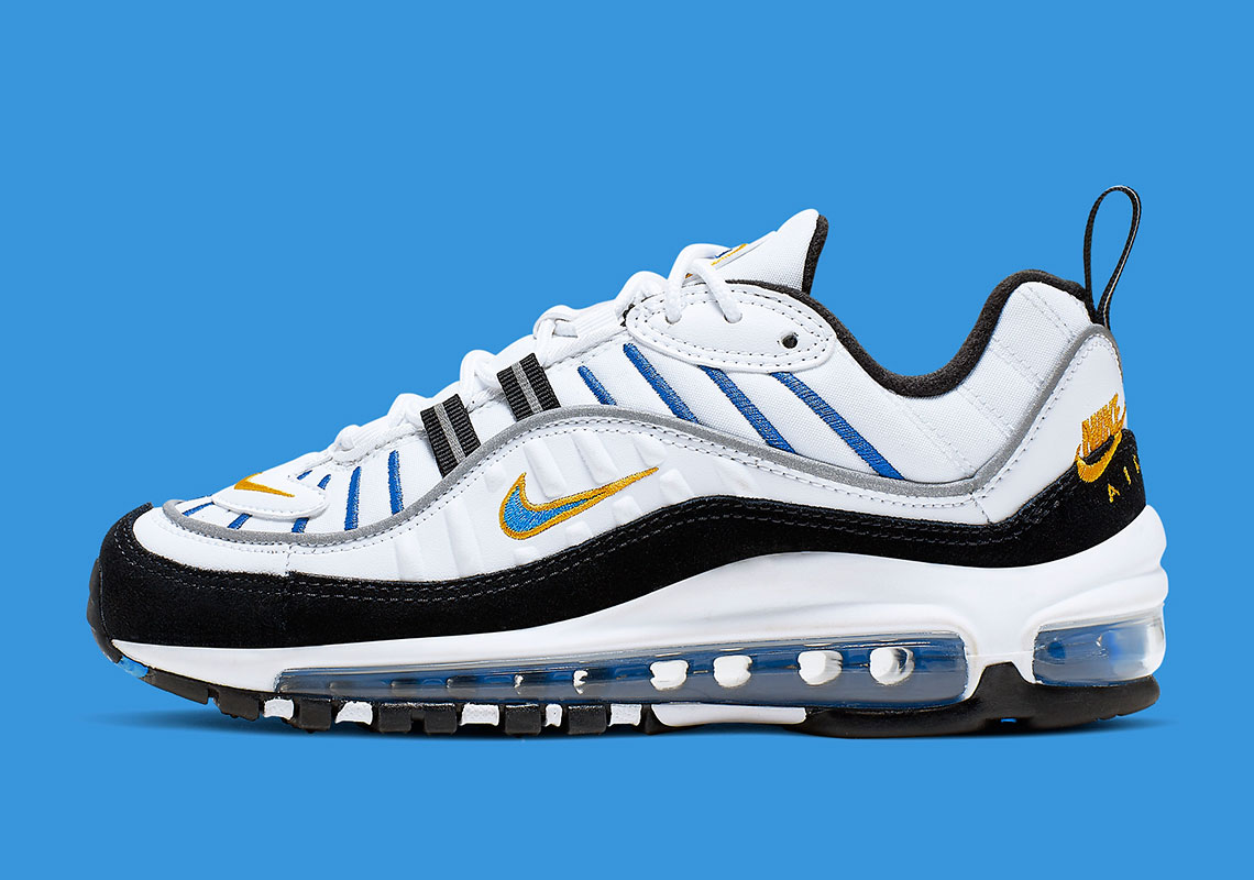 Air Max Classic This Nike Air Max 98 Adds A Classic Logo On The Heel